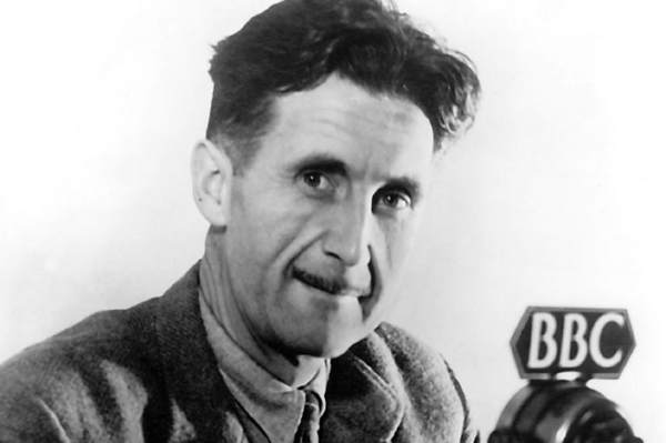 A picture of George Orwell